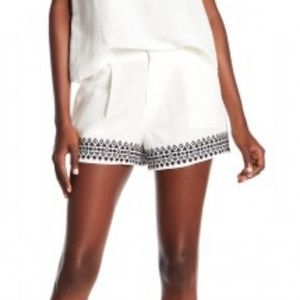 Parker Iman Embroidered Shorts